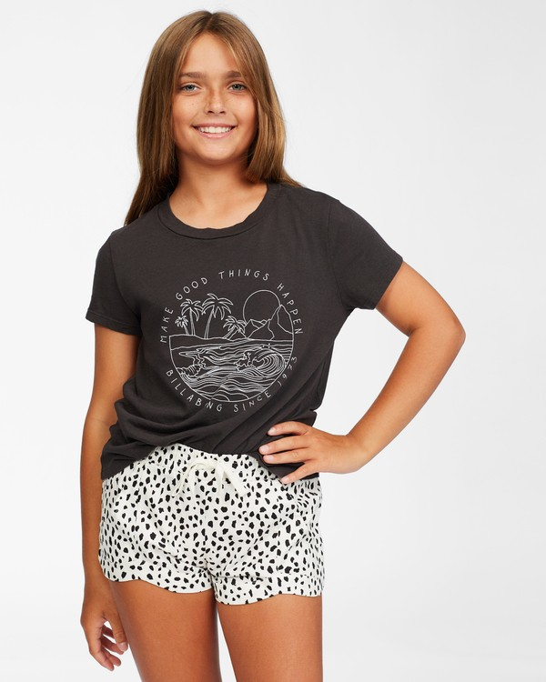 0 Girls' Mad For You Short White ABGNS00103 Billabong