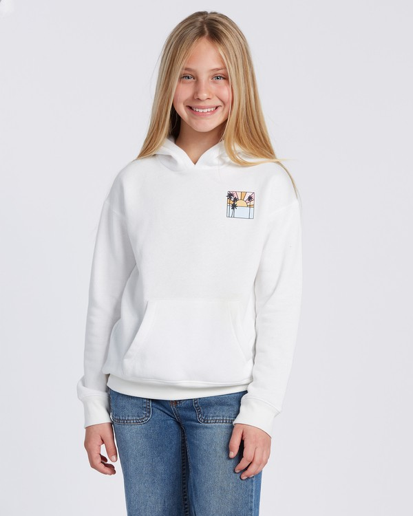 0 Rays Of Sunshine Hoodie White ABGSF00100 Billabong