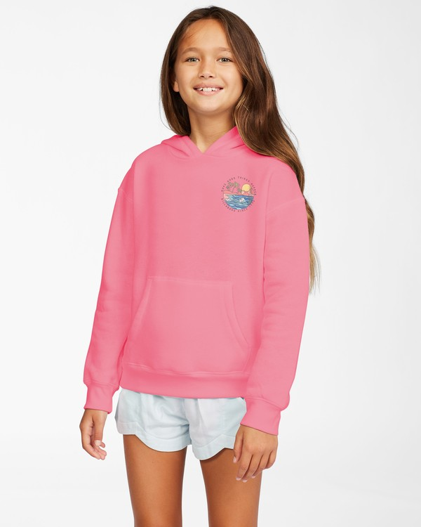 0 Girl's Good Things T-Shirt Orange ABGSF00108 Billabong