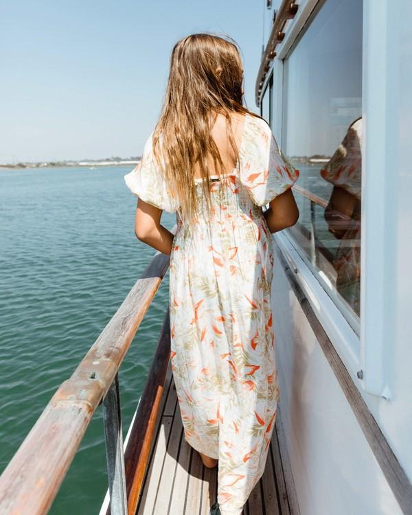 0 Girls 6-14 Beach Time Dress Grey ABGWD00112 Billabong