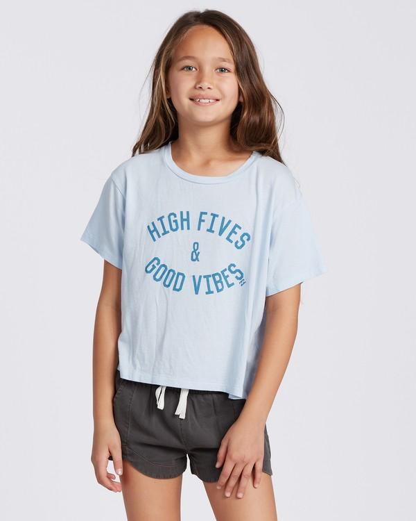 0 High Fives T-Shirt Blue ABGZT00107 Billabong