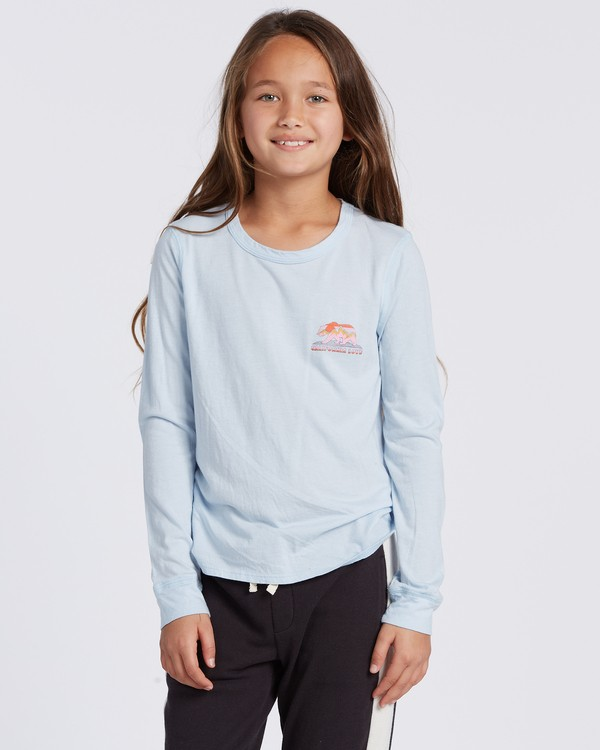 0 Cali Love Long Sleeve T-Shirt Blue ABGZT00114 Billabong