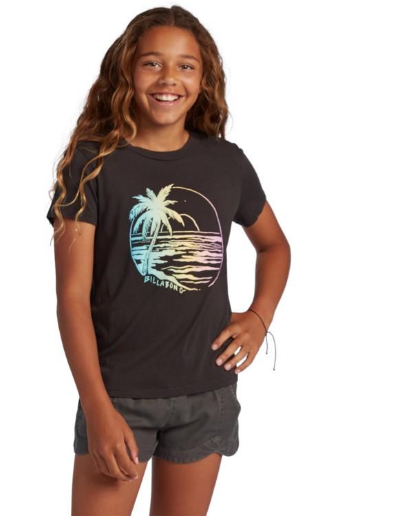 0 Girl's Island Girl T-Shirt Black ABGZT00121 Billabong