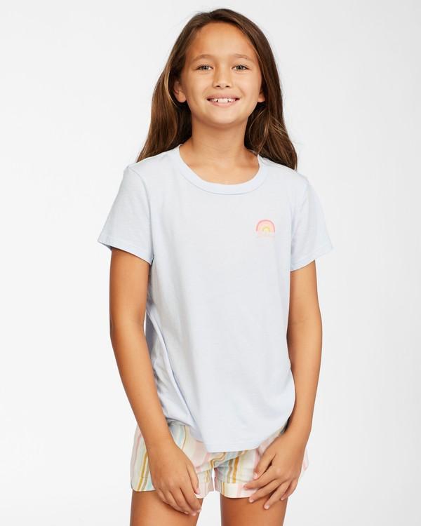 0 Girls' Chasing Rainbows T-Shirt Brown ABGZT00147 Billabong