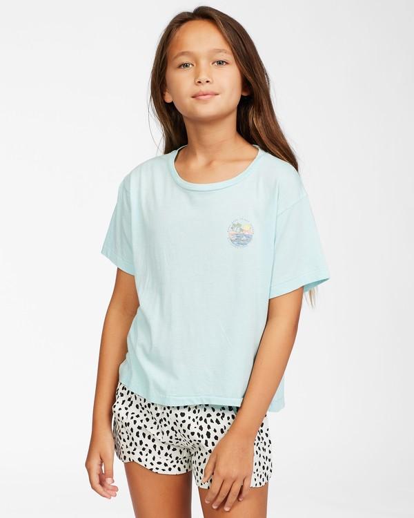 0 Girls' Good Things T-Shirt Blue ABGZT00153 Billabong
