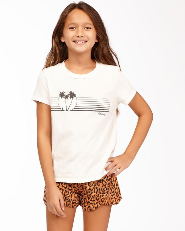 0 Girls' Boardwalk Vibes T-Shirt White ABGZT00166 Billabong