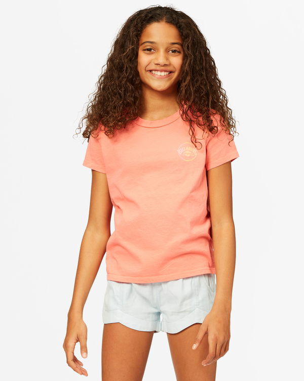 0 Girls' Since 73 T-Shirt Multicolor ABGZT00182 Billabong
