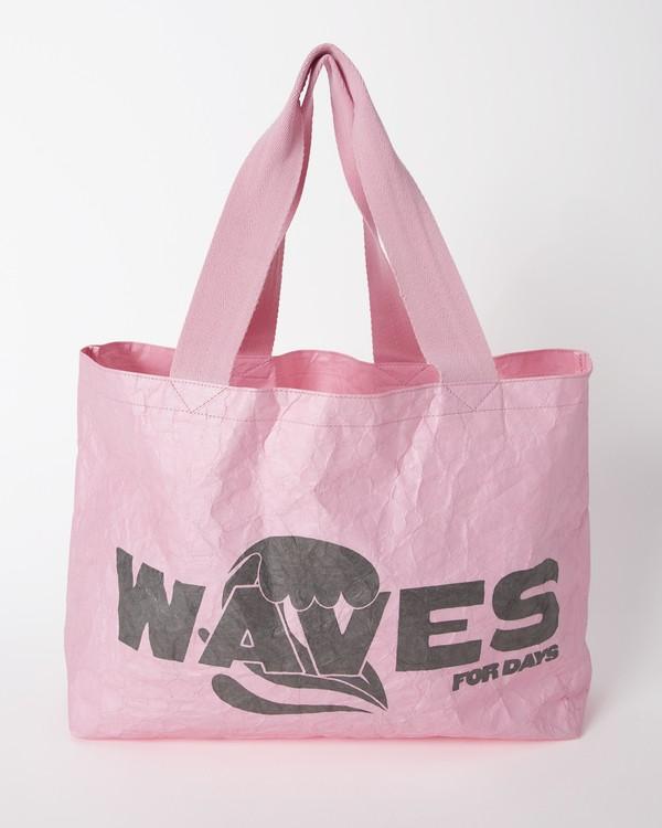 0 Billa Tote Bag Pink ABJBP00134 Billabong
