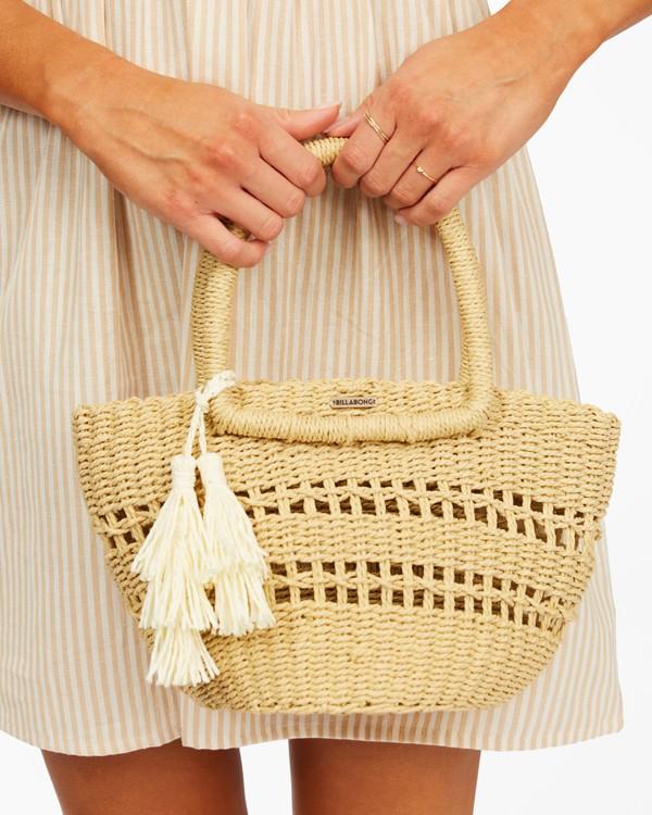 0 Hang On Straw Bag White ABJBP00136 Billabong
