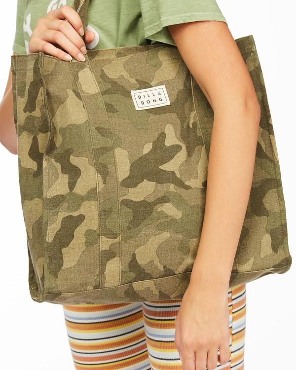 0 Handle It Tote Bag Green ABJBT00104 Billabong