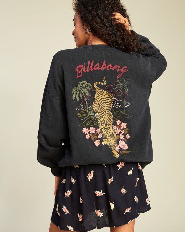 0 Ride In Sweatshirt Black ABJFT00109 Billabong