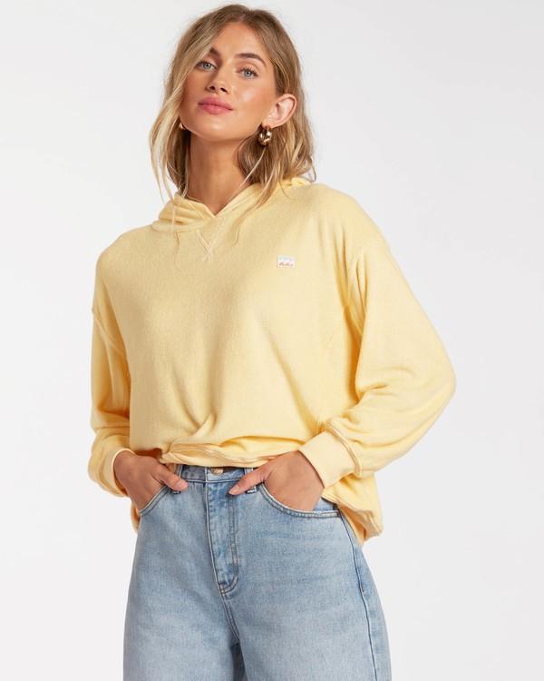 0 Sand Dunes Pullover Sweatshirt Yellow ABJFT00139 Billabong