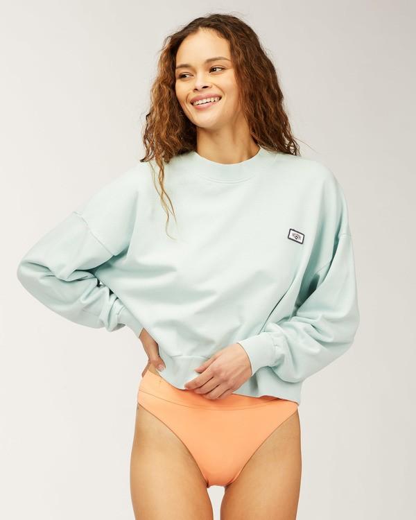 0 Lets Chill Pullover Sweatshirt Multicolor ABJFT00140 Billabong