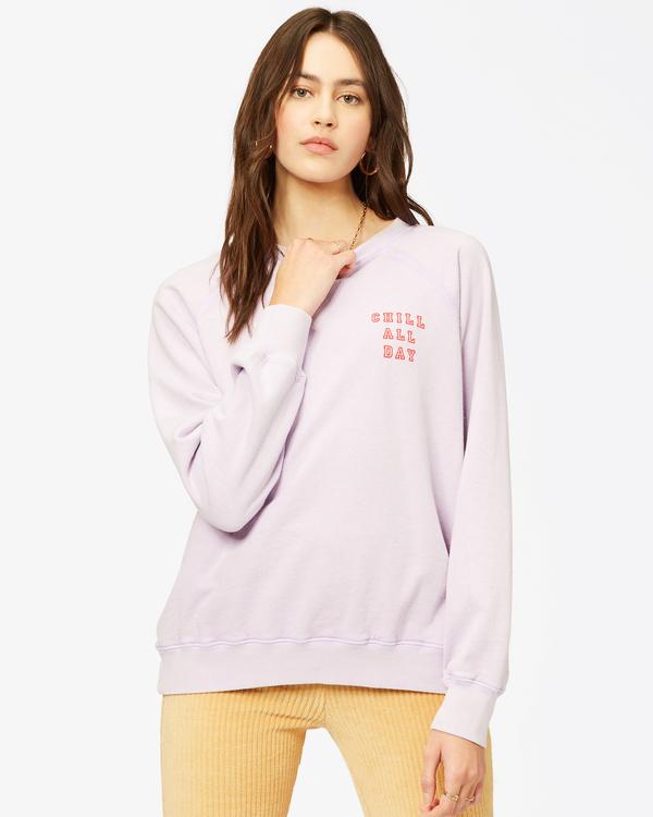 0 Keep Tryin' Crewneck Sweatshirt Multicolor ABJFT00165 Billabong