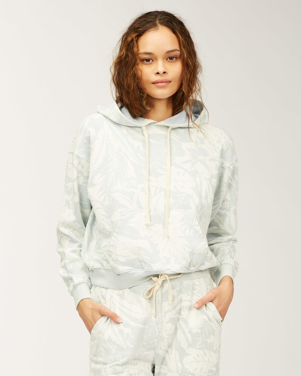 0 At Last Pullover Sweatshirt White ABJFT00171 Billabong