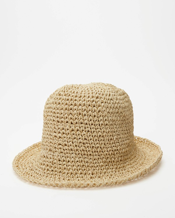 0 Sight Seeing Bucket Hat White ABJHA00108 Billabong