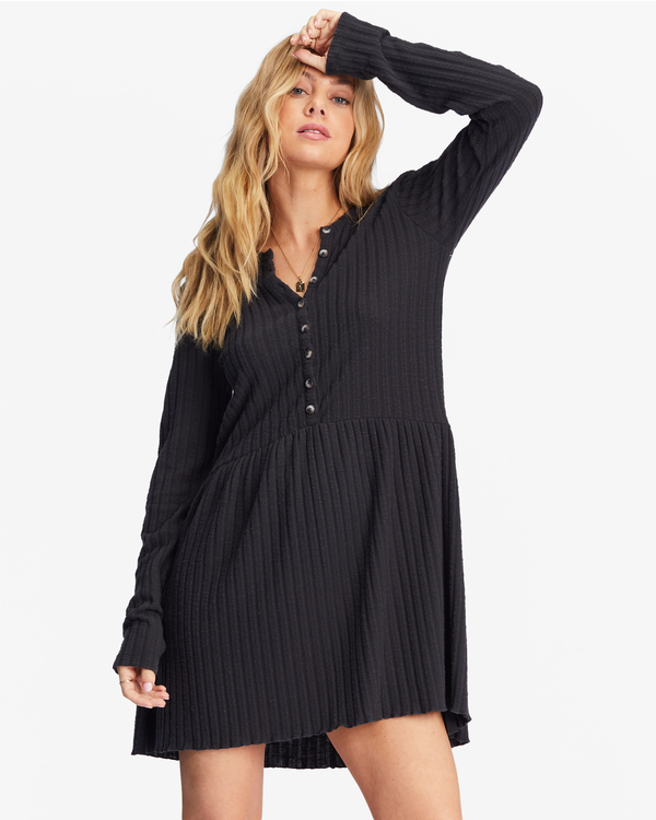 0 Always Lounging Dress Black ABJKD00109 Billabong
