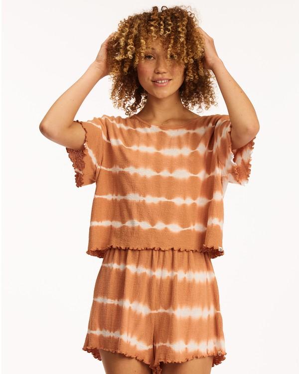 0 Breeze By Top Knit Top Brown ABJKT00204 Billabong