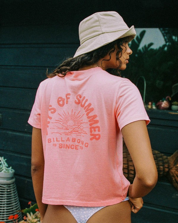 0 Eco Rockers T-shirt Orange ABJKT00262 Billabong