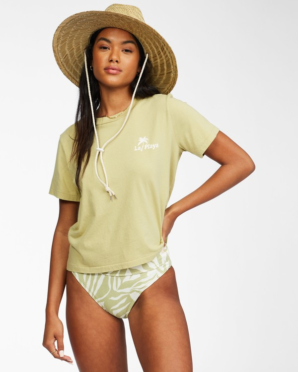 0 Eco Rockers T-shirt Green ABJKT00262 Billabong