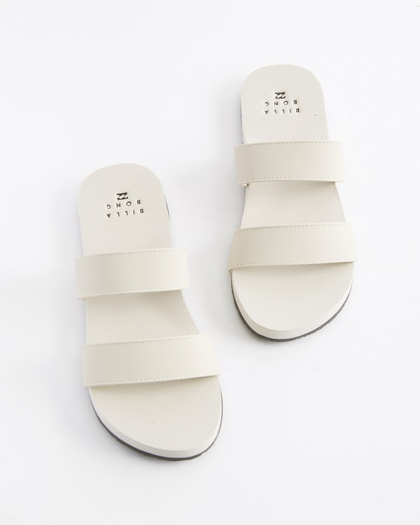 0 Isla Platform Sandal White ABJL100017 Billabong
