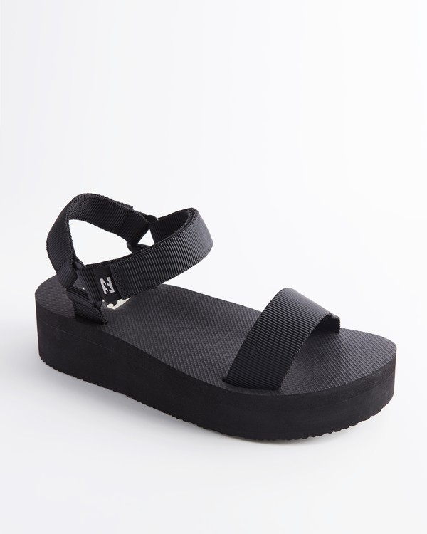 0 Kari On Platform Sandal Black ABJL200007 Billabong