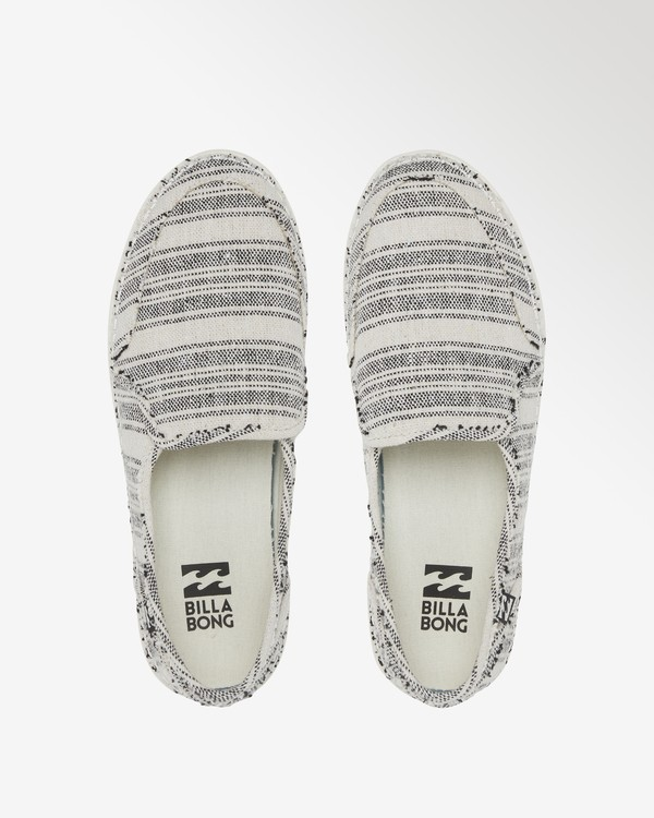 0 Del Sol Slip-On Shoe White ABJS300015 Billabong