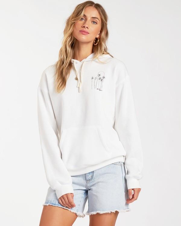 0 Sun Kissed Pullover Sweatshirt White ABJSF00113 Billabong