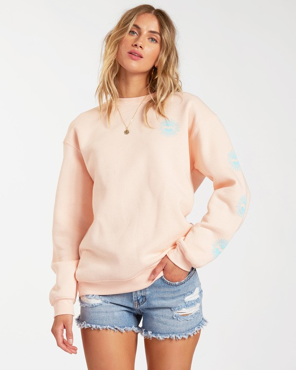 0 Poolside Pullover Sweatshirt Grey ABJSF00118 Billabong