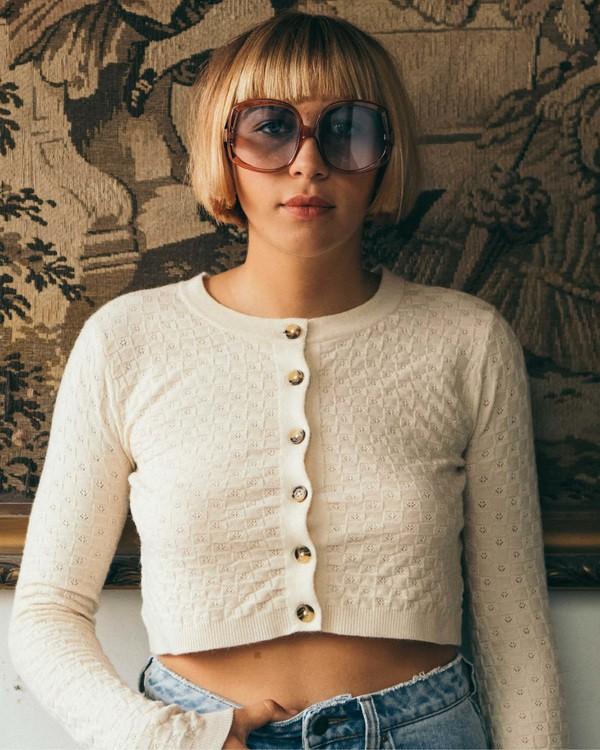 0 My Amor Sweater White ABJSW00100 Billabong
