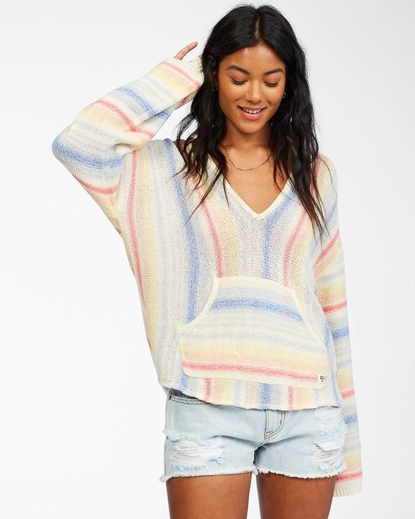 0 Baja Beach Sweater Brown ABJSW00125 Billabong