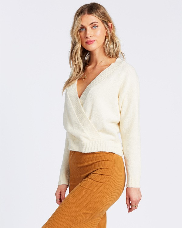 0 Carry On Sweater White ABJSW00131 Billabong