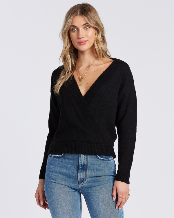 0 Carry On Sweater Black ABJSW00131 Billabong