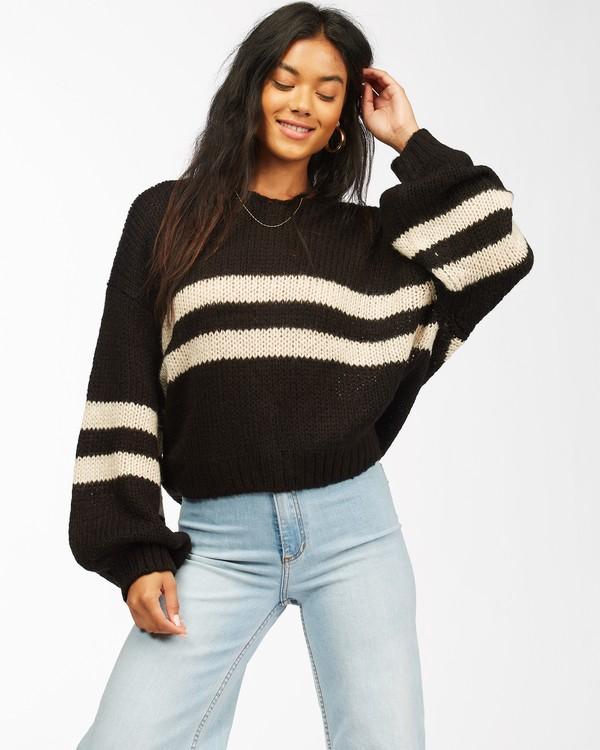 0 Laid Back Sweater Black ABJSW00134 Billabong