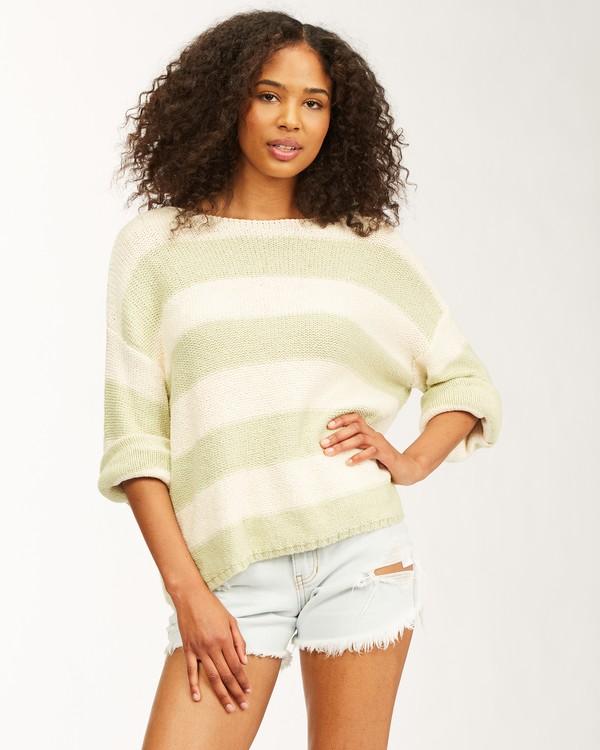 0 Lost Paradise Sweater Green ABJSW00141 Billabong