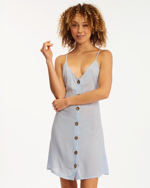 0 Sweet For Ya Dress Blue ABJWD00243 Billabong