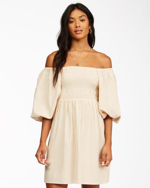 0 Paradise Days Mini Dress Brown ABJWD00250 Billabong
