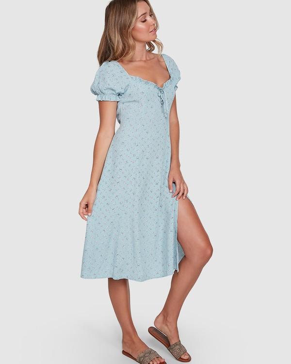 0 Seamist Midi Dress Blue ABJWD00274 Billabong