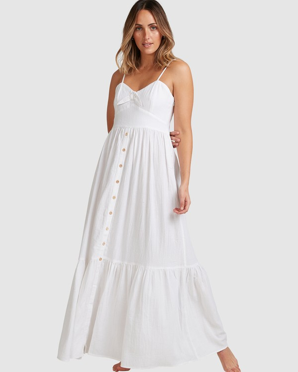 0 Franca Midi Dress White ABJWD00281 Billabong
