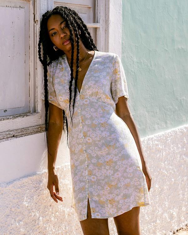 0 Melody Dress Green ABJWD00383 Billabong