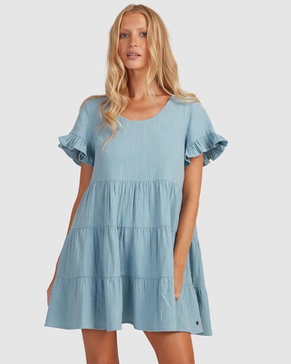 0 Pixie Dress Blue ABJWD00389 Billabong