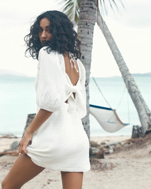 0 Island Mini Dress White ABJWD00402 Billabong