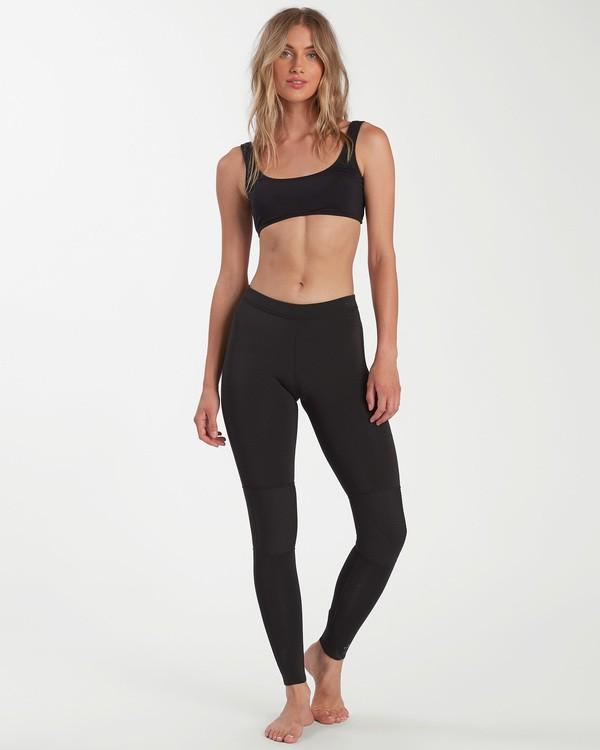 0 1mm Skinny Sea Legs Wetsuit Pants Black ABJWH00103 Billabong