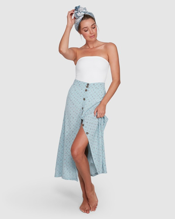 0 Sea Mist Skirt Blue ABJWK00127 Billabong