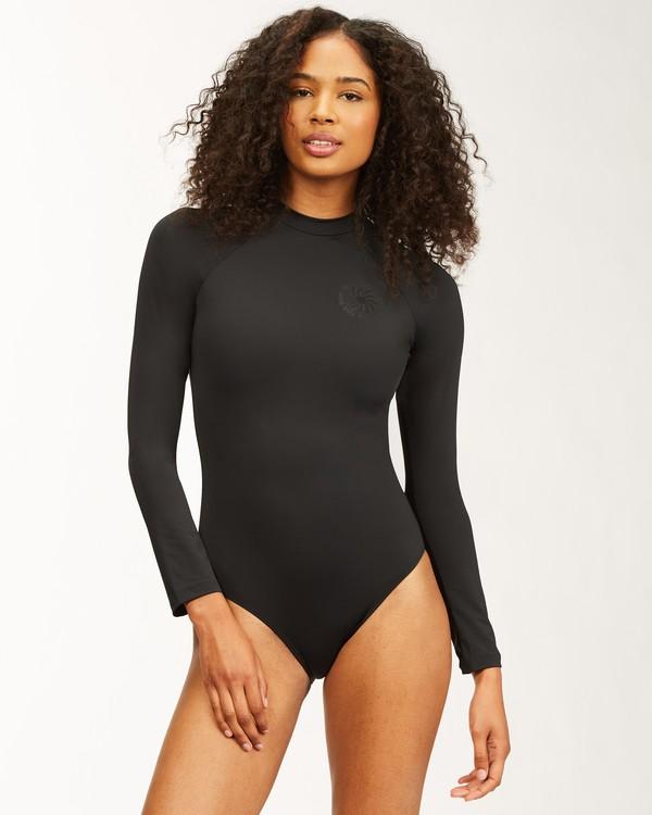 0 Sol Searcher Long Sleeve Swimsuit Black ABJWR00175 Billabong