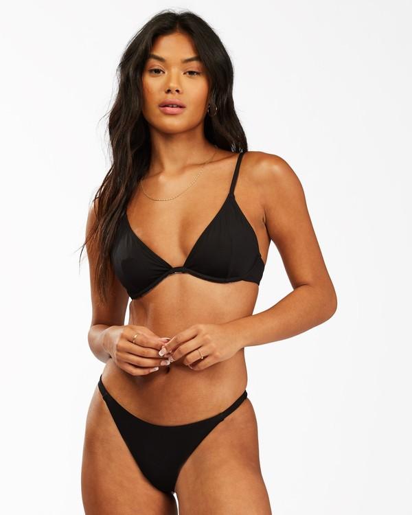 0 Sol Searcher Underwire Bikini Top Black ABJX300133 Billabong