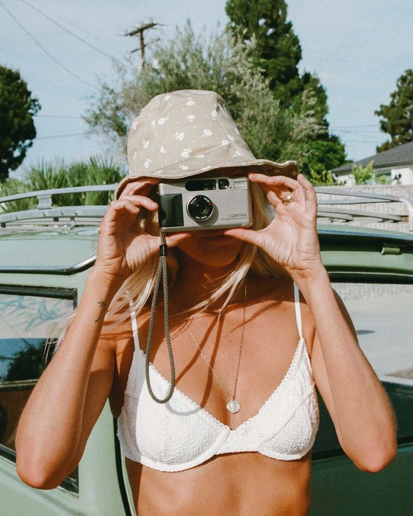 0 Salty Blonde By The Seashore Underwire Bikini Top White ABJX300197 Billabong