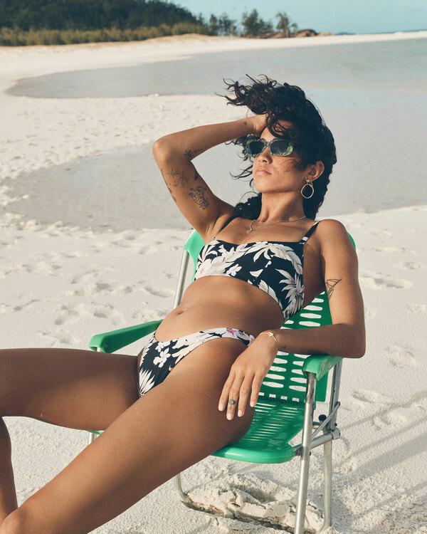 0 Tropicool Vintage DD Bralette Bikini Top Black ABJX300506 Billabong