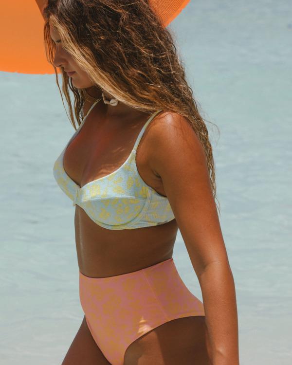 0 Hot Tropics Nova DD Bra Bikini Top Blue ABJX300511 Billabong