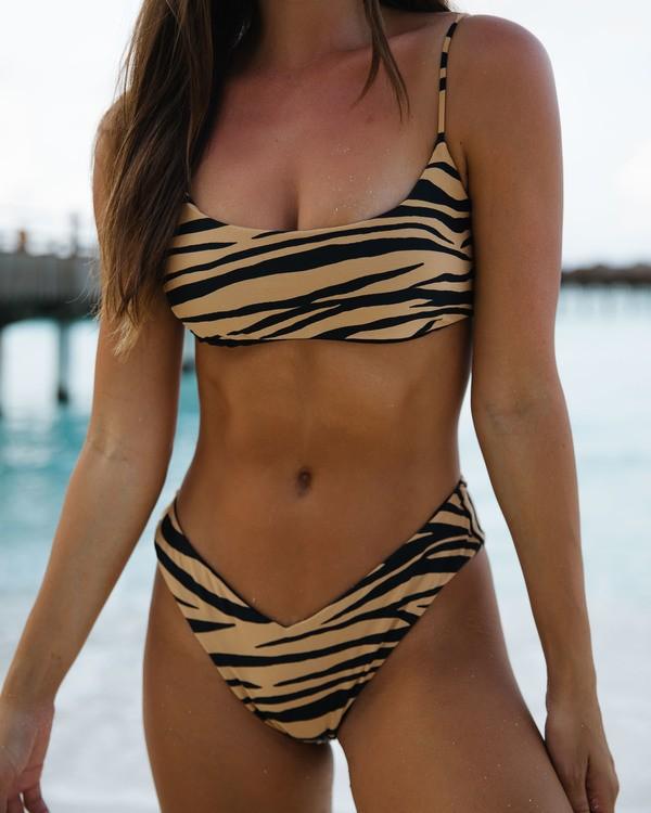 0 Wild Groove Fiji Bikini Bottom White ABJX400116 Billabong